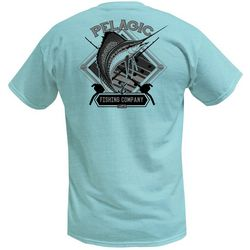 PELAGIC Mens Sailfish Company Short Sleeve T-Shirt
