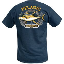 PELAGIC Mens Tuna Company Short Sleeve T-Shirt