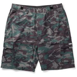 PELAGIC Mens Socorro Camo Fishing Shorts