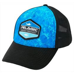 PELAGIC Mens Offshore Dorado Hex Fishing Hat