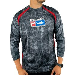 PELAGIC Mens VaporTek Hex Sunshirt