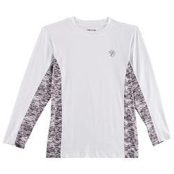 Gillz Mens Waterman Tech Stormy Seas Long Sleeve T-Shirt