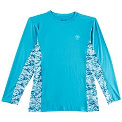 Gillz Mens Waterman Tech Deep Water Long Sleeve T-Shirt