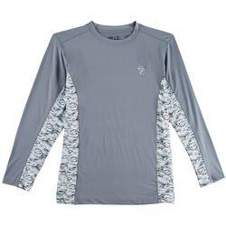 Gillz Mens Waterman Tech Stormy Sea Long Sleeve T-Shirt