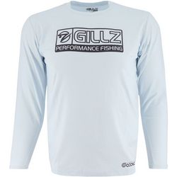 Gillz Mens CoolCore Tech Long Sleeve T-Shirt
