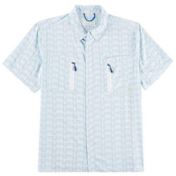 Gillz Mens Deep Sea Short Sleeve Woven Shirt