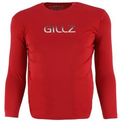 Gillz Mens Contender Series Vented Long Sleeve T-Shirt