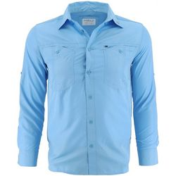 Gillz Mens Elite Angler Long Sleeve Shirt