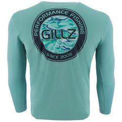 Gillz Mens UV Waterman Circle Long Sleeve T-Shirt