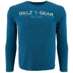 Gillz Mens UV Tight Lines Long Sleeve T-Shirt