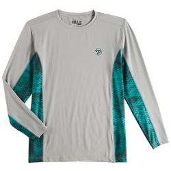 Gillz Mens Waterman Tech Scale Long Sleeve T-Shirt