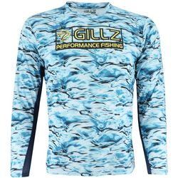 Gillz Mens Tournament Series CoolCore Logo T-Shirt