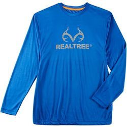 Realtree Mens Performance Long Sleeve T-Shirt
