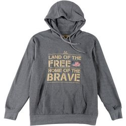 Realtree Mens Home Of The Brave Hoodie