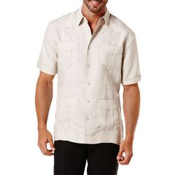 Cubavera Mens Short Sleeve Guayabera Shirt