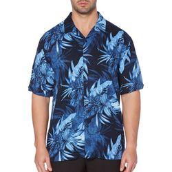 Cubavera Mens Tropical Camp Shirt