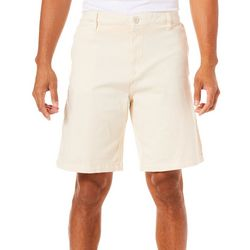 Caribbean Joe Mens Solid Flat Front Club Shorts