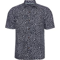 Caribbean Joe Mens Floral Print Button Down Shirt