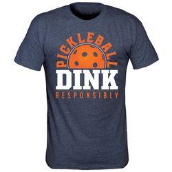 T-Shirt International Mens Dink Responsibly T-Shirt