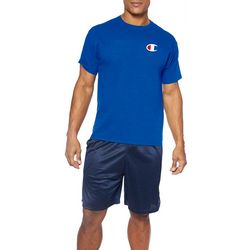 Champion Mens Big & Tall Logo Crew Neck Short Sleeve T-Shirt