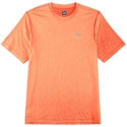 Fila Mens Solid Crew Neck Short Sleeve T-Shirt