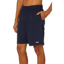 Fila Mens Solid Jersey Athletic Shorts