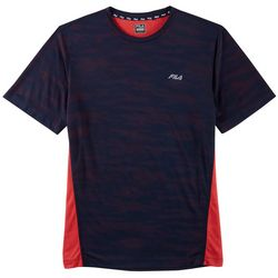 Fila Mens Corso Camo Short Sleeve T-Shirt