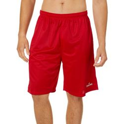 Spalding Mens Solid Core Mesh Athletic Shorts