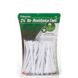 World of Golf 40-pk. No Resistance Golf Tees