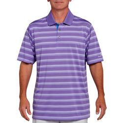 Pebble Beach Mens Striped Polo Shirt