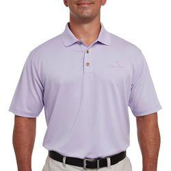 Pebble Beach Mens Solid Lodge Polo Shirt