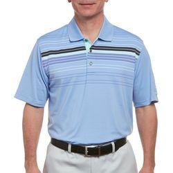 Pebble Beach Mens Chest Stripe Polo Shirt