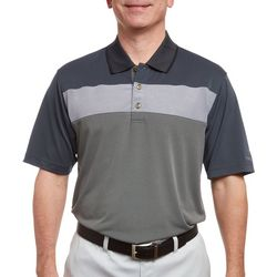 Pebble Beach Mens Colorblock Performance Polo Shirt