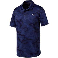 Puma Golf Mens Alterknit Camo Polo Shirt