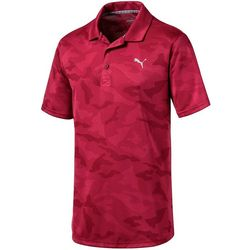 Puma Golf Mens Alterknit Camo Polo Shirt