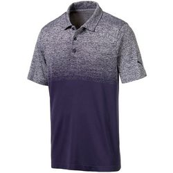 Puma Golf Mens Evoknit Ombre Polo Shirt