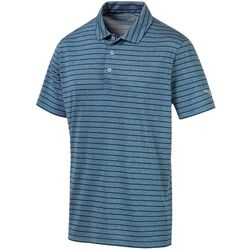 Puma Golf Mens Rotation Stripe Polo Shirt