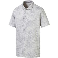 Puma Golf Mens Fronds Polo Shirt