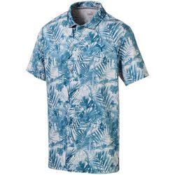Puma Golf Mens Fronds Polo Shirt
