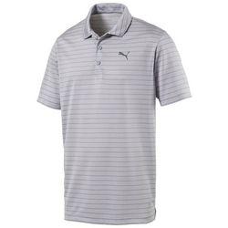 Puma Golf Mens Rotation Stripe Polo Shirt