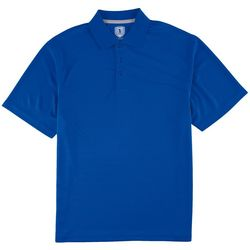 Golf America Mens Tonal Stripe Polo Shirt