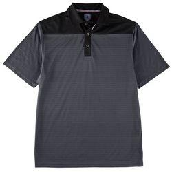 Golf America Mens Pieced Polo Shirt