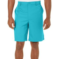 Golf America Mens Solid Golf Shorts