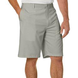 Golf America Mens Geometric Print Golf Shorts