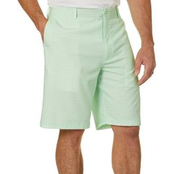 Golf America Mens Geometric Print Golf Shorts