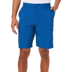 Golf America Mens Sleet Solid Golf Shorts