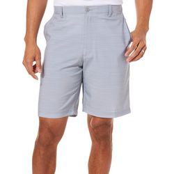 Golf America Mens Sleet Space Dye Print Golf Shorts