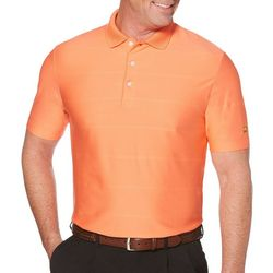Jack Nicklaus Mens Golf Ottoman Stripe Polo Shirt