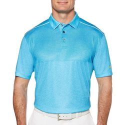 Jack Nicklaus Mens Golf Upper Body Print Polo Shirt