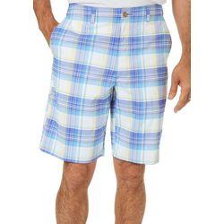 Jack Nicklaus Mens Madras Plaid Shorts